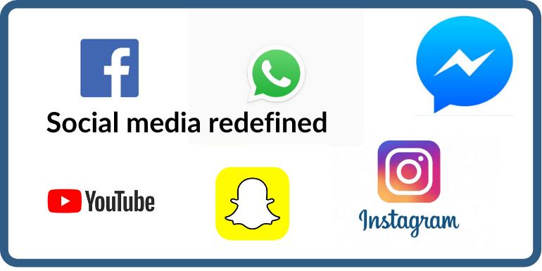 SOCIAL MEDIA REDEFINED