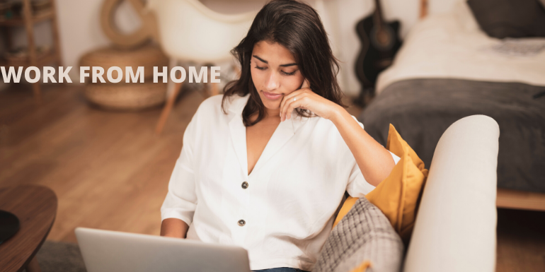 AN ALTERNATIVE WORKPLACE : WORK FROM HOME
